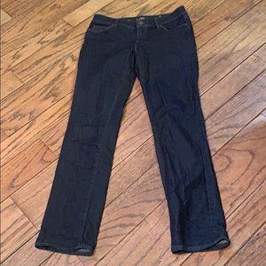 Modern straight jeans by Loft
